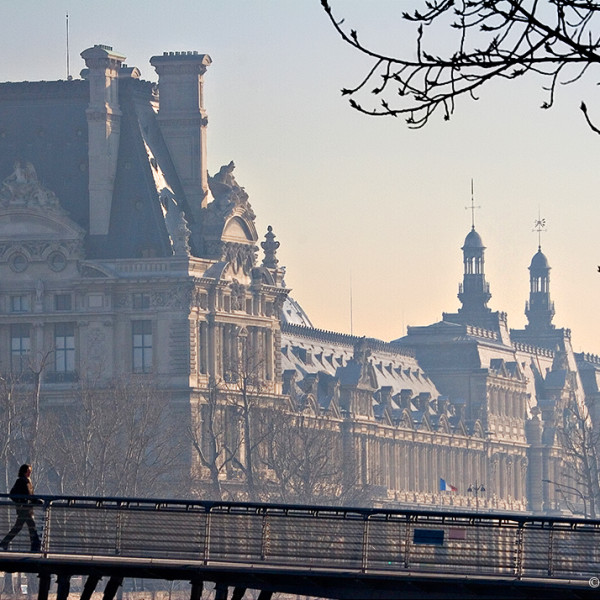 Louvre Backdrop